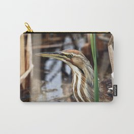 American Bittern - Take Two Carry-All Pouch