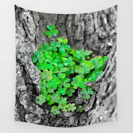 Clover Cluster Wall Tapestry