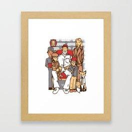 Anderson Family Framed Art Print