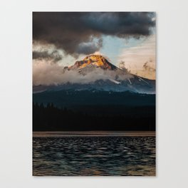 Mt. Hood at Sunset Canvas Print