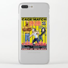Cage Match Clear iPhone Case