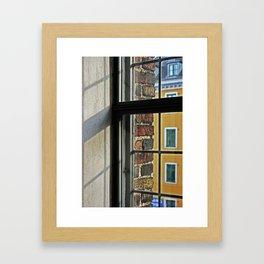 Window view 5 Framed Art Print