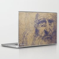 da vinci Laptop & iPad Skins featuring Da Vinci by LK Winwright