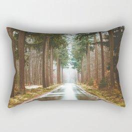 Morning Eerie Woods (Color) Rectangular Pillow
