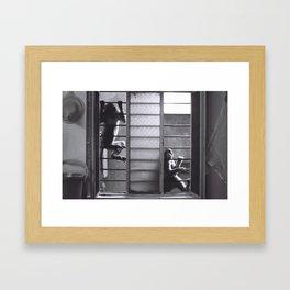 Chilling Framed Art Print