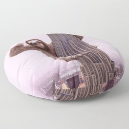 KING SLOTH Floor Pillow