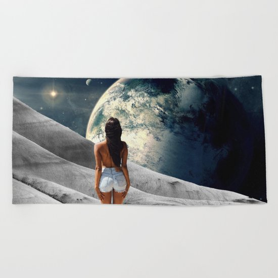 Awakening Beach Towel