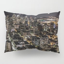 Seattle from the Space Needle Pillow Sham