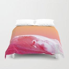PEACHY SURF Duvet Cover