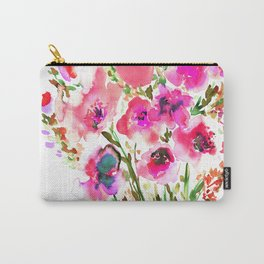 Bouquet Pink Carry-All Pouch
