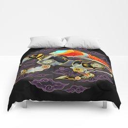 Black Lion Batik Comforters