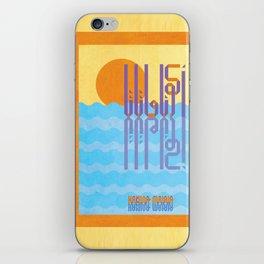 Hakuna Matata - Seize the Day  iPhone Skin