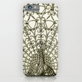 Maurice Pillard Verneuil - Paon, grille fer forgé iPhone Case