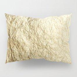 Crinkled Gold Pillow Sham