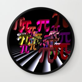 pi-day in march Wall Clock