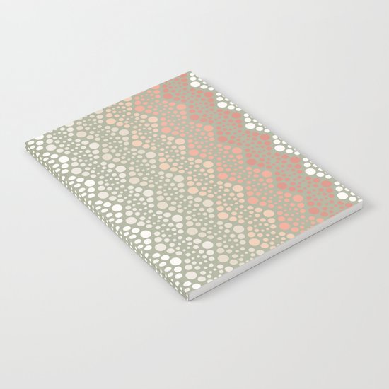 Retro Dotted Pattern 06 Notebook