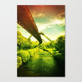 Green W. Canvas Print