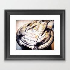 Battle Damaged Framed Art Print