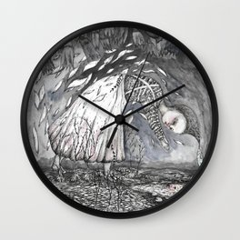 Going under Wall Clock