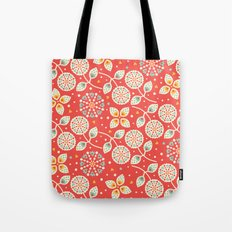 Vintage Flora Tote Bag