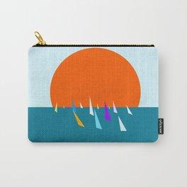 Minimal regatta in the sun Carry-All Pouch