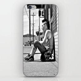 Tacoma skater iPhone Skin