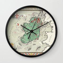 Irish Free State and Northern Ireland Wall Clock