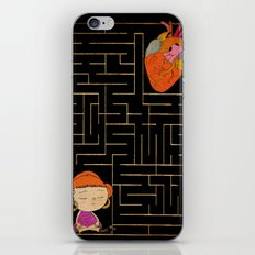 labyrinth iPhone & iPod Skin