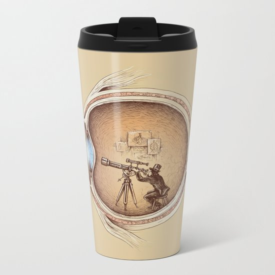 Extraordinary Observer Metal Travel Mug