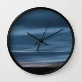 Skyscape Blue Wall Clock