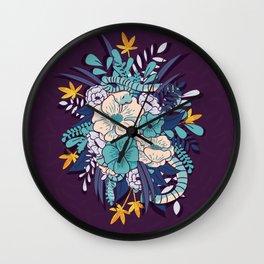 Jungle Bouquet 002 Wall Clock
