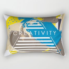 Miniature Original - creativity Rectangular Pillow