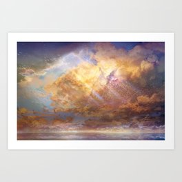 Sky-High Art Print