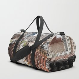 Chinatown, New York City Landscape Painting by Jeanpaul Ferro Duffle Bag