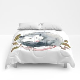 Possum and Oak Leaves Comforters
