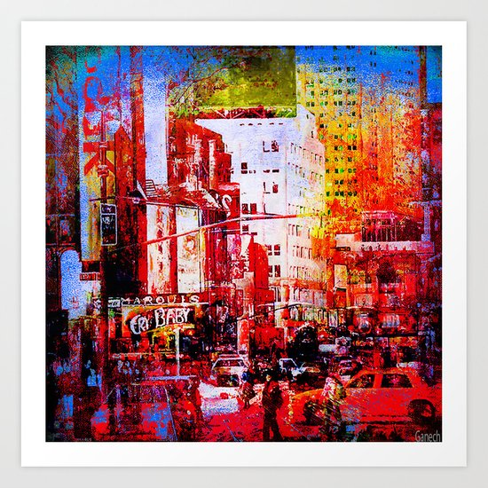 New-York Art Print