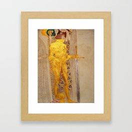 The Golden Knight - Gustav Klimt Framed Art Print