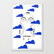 Blue Clouds Canvas Print