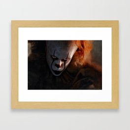 Pennywise The Dancing Clown - IT Framed Art Print