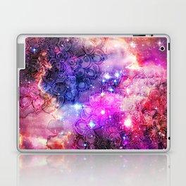 Doodles in Deep Space Laptop & iPad Skin