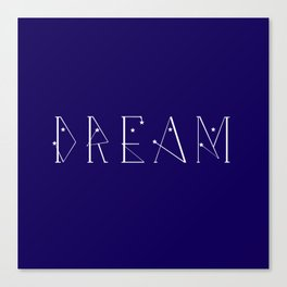 Starry Dream Canvas Print