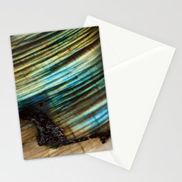 Refractive Star Trails Stationery Cards