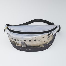 PLANE WRECK-Iceland Fanny Pack