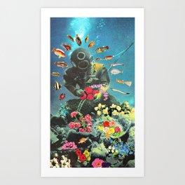 Underwater Flora Art Print