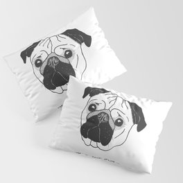 Obey the Pug Pillow Sham