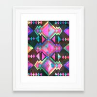 dream catcher Framed Art Prints featuring Dream Catcher by Schatzi Brown