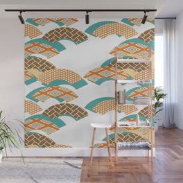 Geometry wind pattern Wall Mural