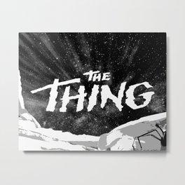 "Fan Art - John Carpenter's ""THE THING"" Metal Print"