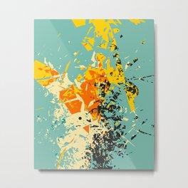 CRASH 1 Metal Print