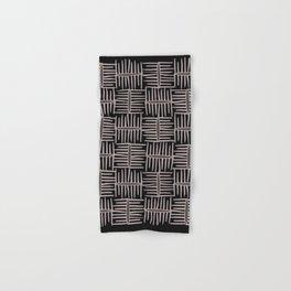 Neo Tribal Black Hand & Bath Towel